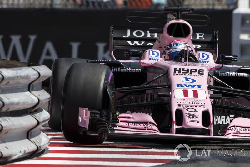 13. Sergio Perez, Force India VJM10