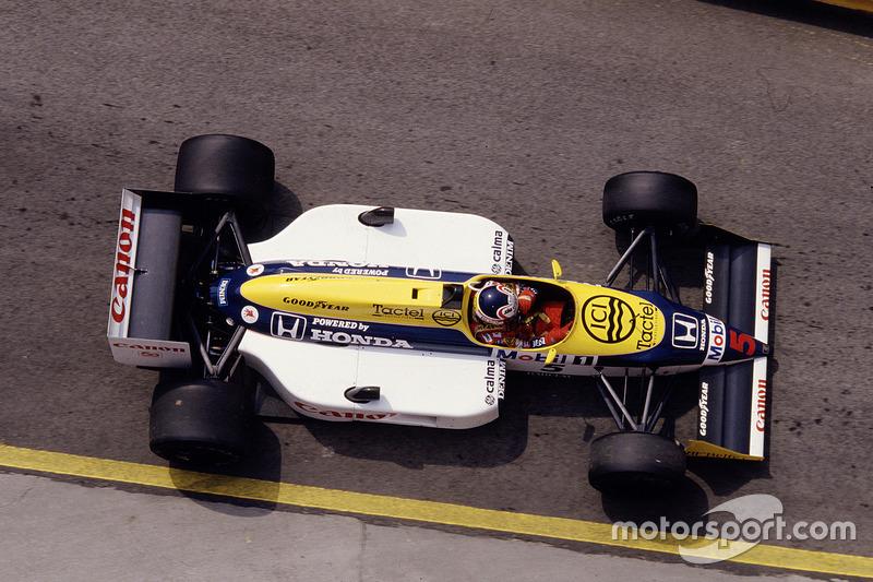 1987: Williams FW11B Honda