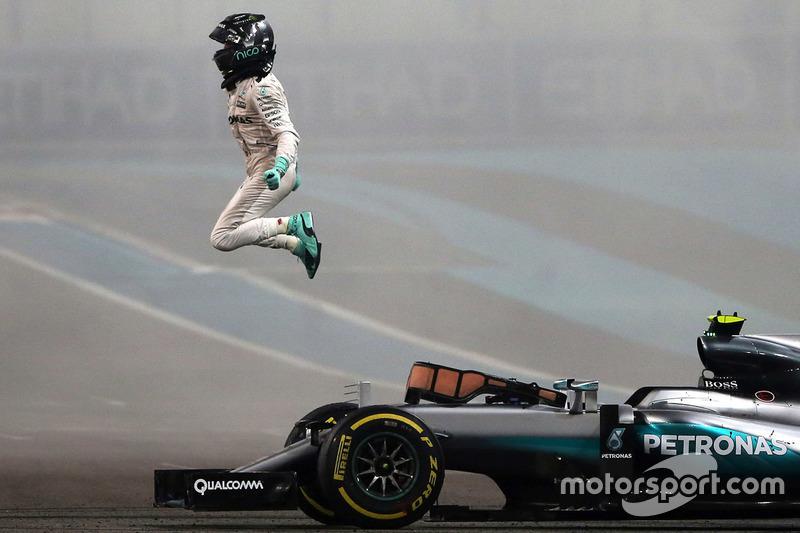5. Чемпіон світу Ніко Росберг, Mercedes AMG F1 W07 Hybrid