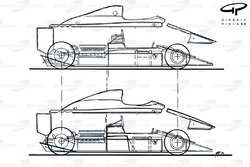 Кожух Ferrari F1-90 (641) 1990 года