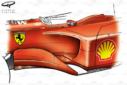 Ferrari F2001 chassis, bargeboards and sidepods