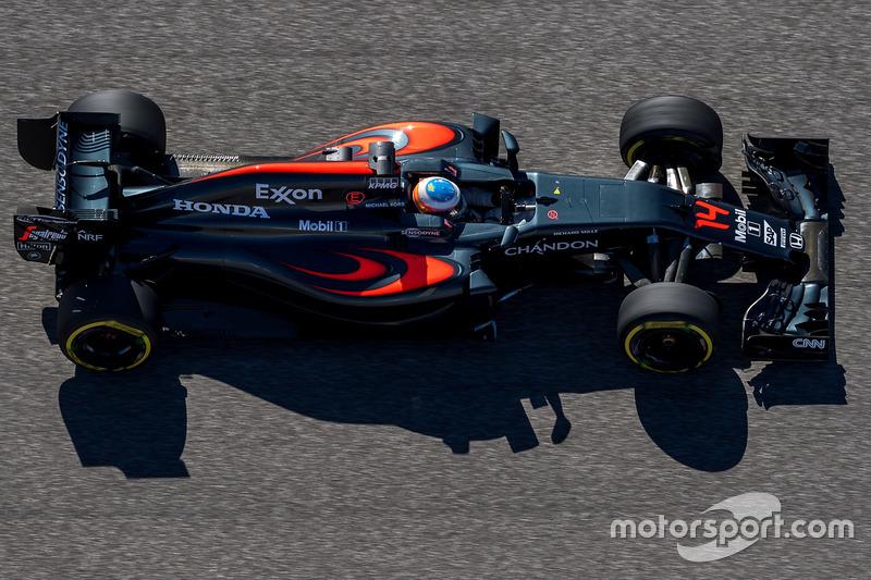 5. Fernando Alonso, McLaren MP4-31