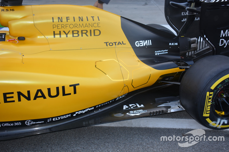 Renault Sport F1 Team RS16: Heck