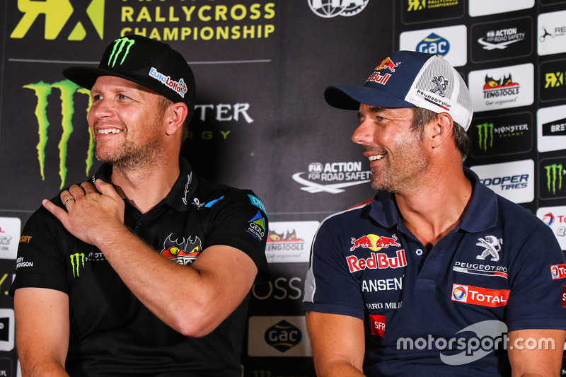 Petter Solberg, Petter Solberg World RX Team, Sébastien Loeb, Team Peugeot Hansen