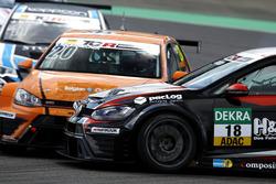 Crash: Vincent Radermecker, Milo Racing, VW Golf GTI TCR; Kai Jordan, JBR Motorsport, VW Golf GTI TCR