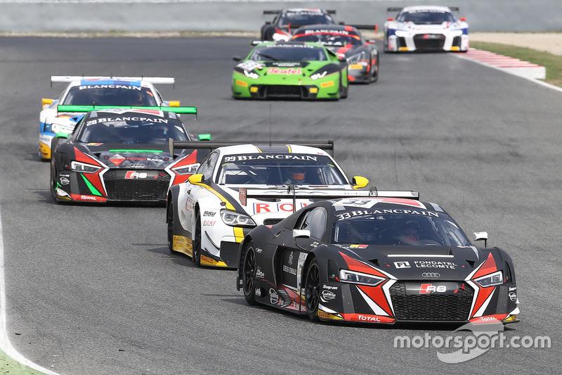 #33 Belgian Audi Club Team WRT, Audi R8 LMS: Enzo Ide, Robin Frijns