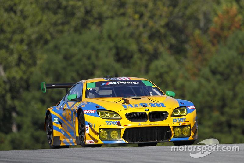 #97 Turner Motorsport, BMW M6 GT3: Michael Marsal, Markus Palttala, Cameron Lawrence