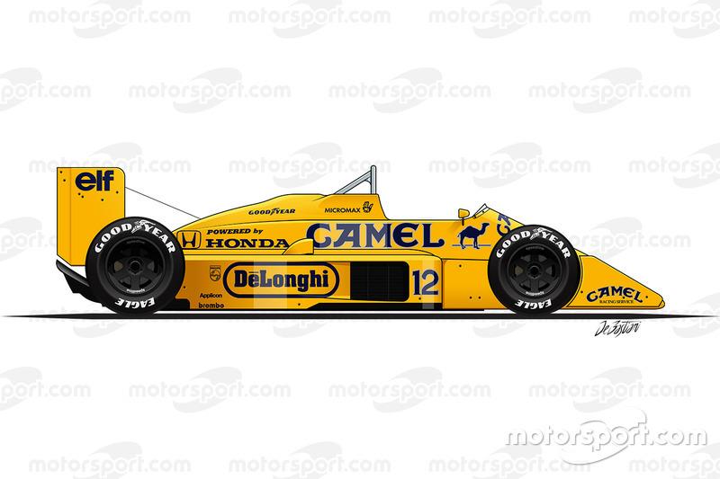 1987 - Lotus 99T