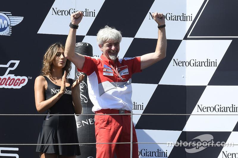 Gigi Dall'Igna, General Manager Ducati Corse