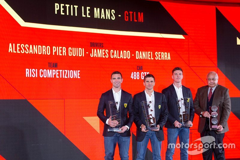Premiazioni GT Ferrari
