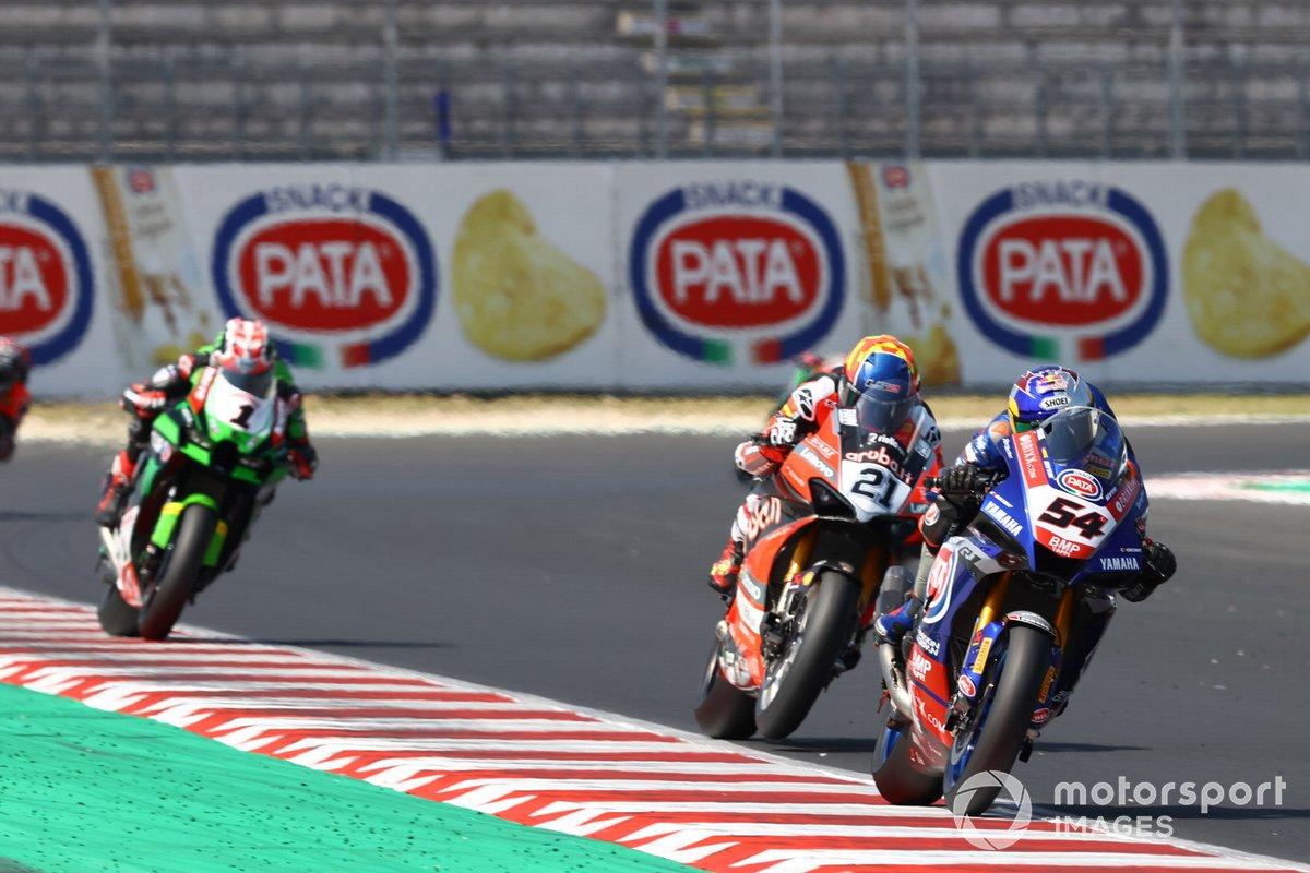 Toprak Razgatlioglu, PATA Yamaha WorldSBK Team, Michael Ruben Rinaldi, Aruba.It Racing - Ducati