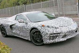 Spyshot Corvette C8 à moteur central