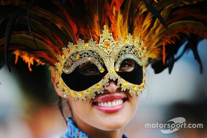 Гран Прі Італії: маска