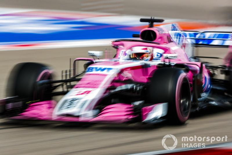 24 місце — Ніколя Латіфі, Force India. Умовний бал — 0,49