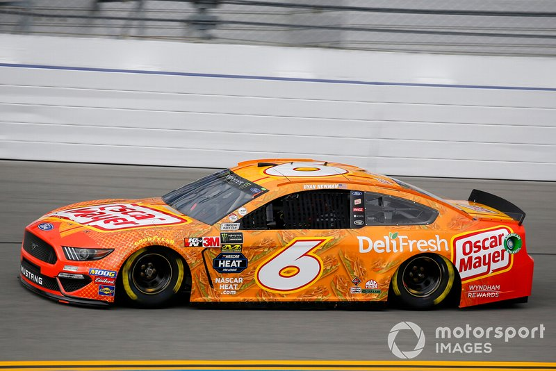 19. Ryan Newman, Roush Fenway Racing, Ford Mustang Oscar Mayer Deli Fresh