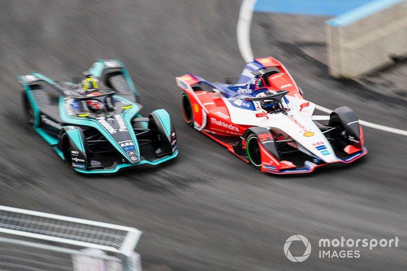 Felix Rosenqvist, Mahindra Racing, M5 Electro Nelson Piquet Jr., Panasonic Jaguar Racing, Jaguar I-Type 3