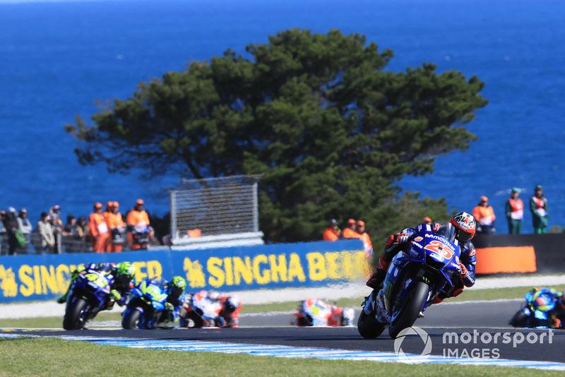 17. Гран Прі Австралії - переможець Маверік Віньялес, Yamaha Factory Racing