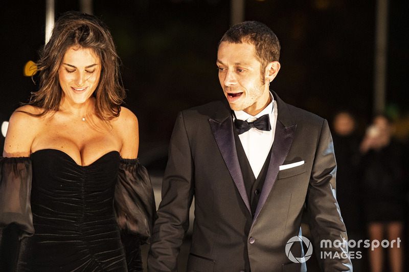 Valentino Rossi, Yamaha Factory Racing et sa petite amie