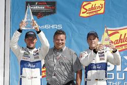 #66 Chip Ganassi Racing Ford GT, GTLM: Dirk Müller, Joey Hand, podium, Michael Printup