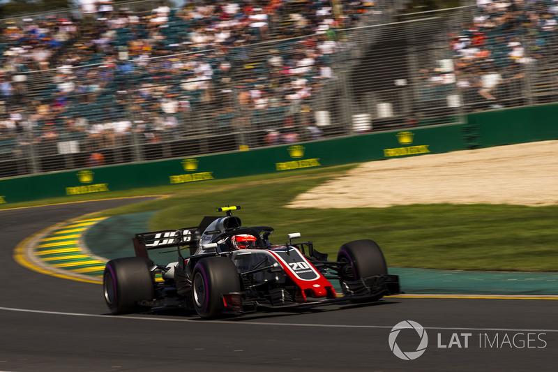 Kevin Magnussen, Haas VF-18