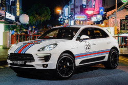 Porsche Macan with Martini livery