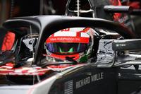 Antonio Giovinazzi, Haas F1 Team VF-17 and halo