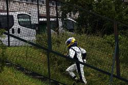 Nico Rosberg, Williams retirado de la carrera