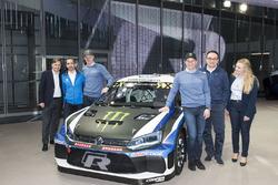 Петтер Сольберг и Йохан Кристофферссон, PSRX Volkswagen Sweden, Volkswagen Polo GTI WRX 2018 года