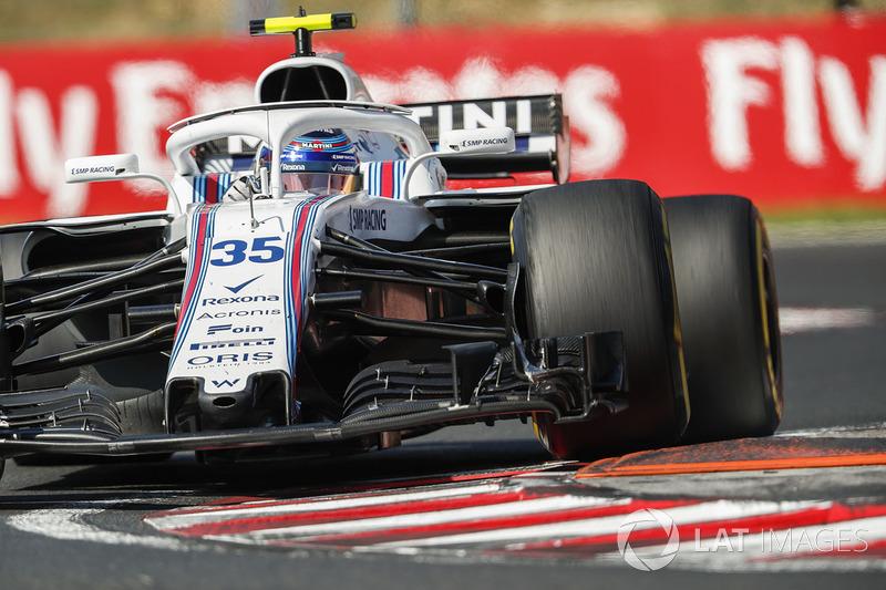 15. Sergei Sirotkin, Williams FW41