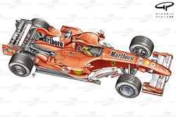 Ferrari 248 F1 (657) 2006 Interlagos overview