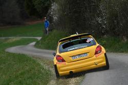 Daniel Sieber, Katja Totschnig, Peugeot 207, Team Rallye Top
