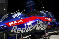 Carrosserie Toro Rosso Honda dans les stands