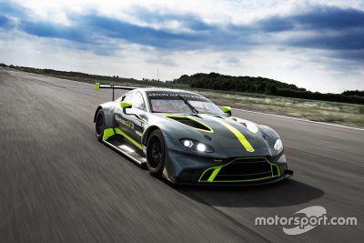 Anúncio Aston Martin GT3/GT4
