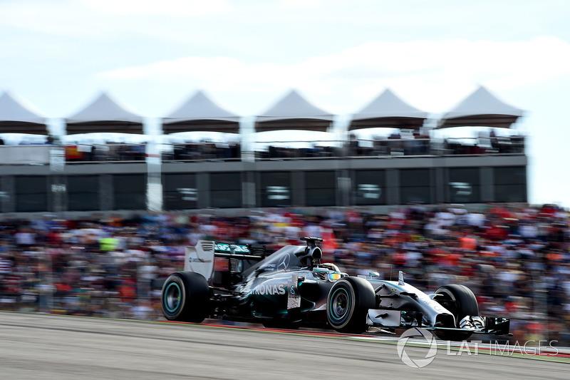 2014 - Austin : Lewis Hamilton, Mercedes F1 W05 Hybrid