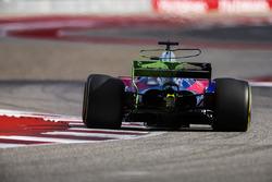 Flo-Viz paint on the rear wing of Brendon Hartley, Scuderia Toro Rosso STR12