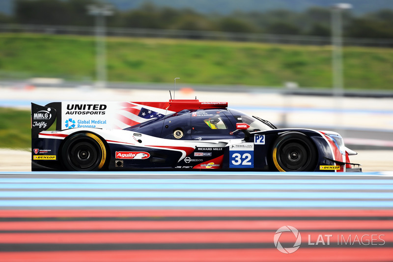 (LMP2) #32 United Autosports, Ligier JSP217 - Gibson: William Owen, Hugo de Sadeleer, Wayne Boyd