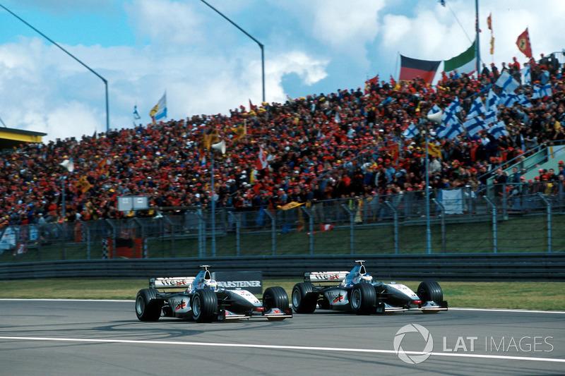 Mclaren'lar, David Coulthard ve Mika Hakkinen