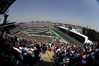 Stoffel Vandoorne, McLaren MCL32 and fans in the grandstand