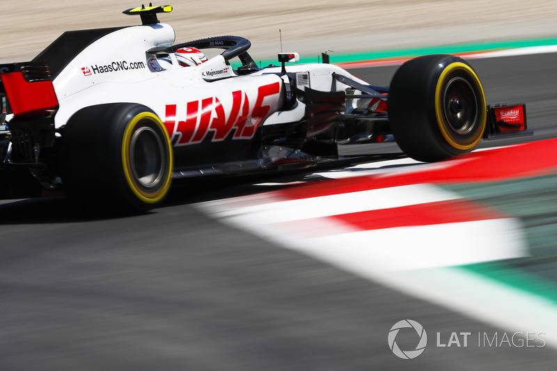 7: Kevin Magnussen, Haas F1 Team VF-18, 1'17.676