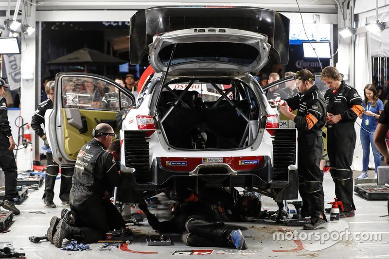 Team area Toyota Gazoo Racing