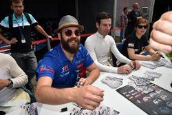 Autograph session, Stefano Comini, Comtoyou Racing, Audi RS3 LMS