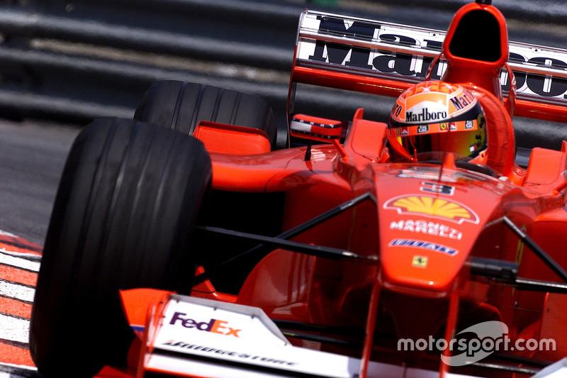 Michael Schumacher lors du GP de Monaco