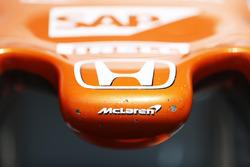 Nase mit Honda-Logo: McLaren MCL32