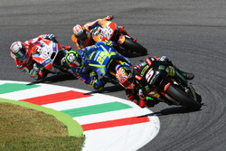 Johann Zarco, Monster Yamaha Tech 3; Andrea Iannone, Team Suzuki MotoGP