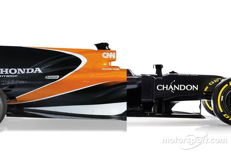 Vergelijking McLaren MCL32 en MP4-31