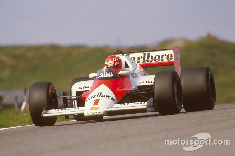 1985: Niki Lauda, McLaren MP4/2B TAG Porsche