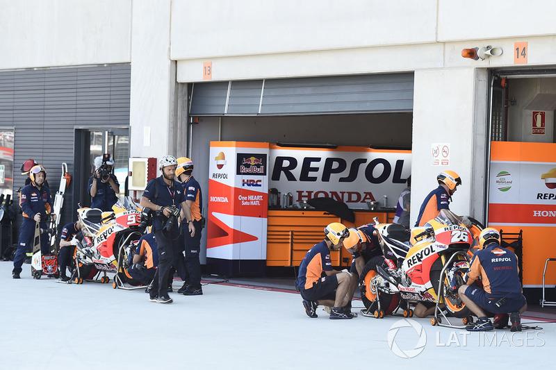 Respol Honda garage