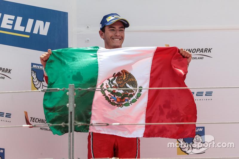 Podium: Alfonso Célis Jr., Fortec Motorsports