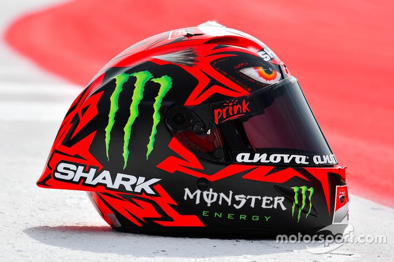 Casco especial de Jorge Lorenzo, Ducati Team