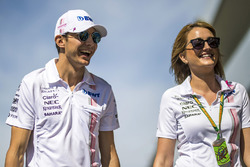 Esteban Ocon, Sahara Force India F1, Victoria Helyar, Sahara Force India F1 Team